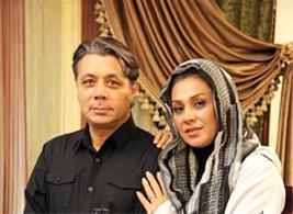 عکس:نسرین مقانلو و همسرش