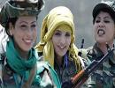 زنان فارغ التحصیل از دانشگاه قذافی
