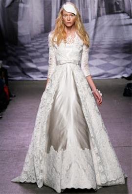عکس:زیباترین لباس های عروس 2011