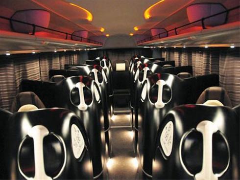 عکس:زیبا ترین اتوبوس جهان