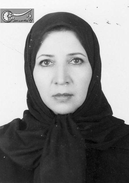 عکس: خانم ایران شاقول، مجری تلویزیون در سالهای دهه شصت