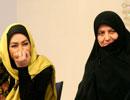 حضور متفاوت الهام حمیدی  همراه با خانواده شهید بابایی در پارک ملت