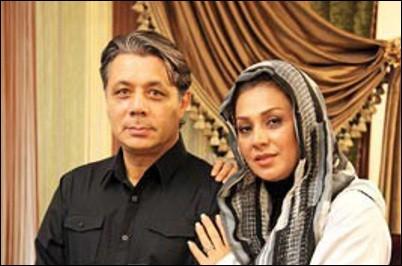 عکس نسرین مقانلو و همسرش!