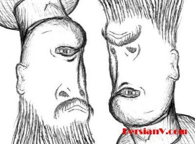 ضرب المثل با نقاشی عکسهای دیدنی از خطای چشم