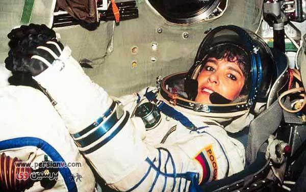تصاویر : اولین زن فضانورد خودکشی کرد