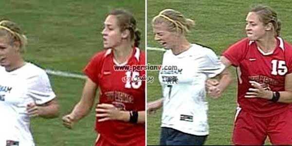 عکس های دیدنی از خشن ترین دختر فوتبالیست دنیا