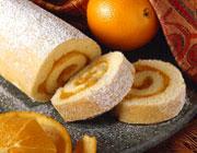 طرز تهیه ی رولت زردآلو و پرتقال