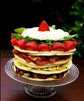 تهیه پنکیک صبحانه؛ مخصوص روز پدر