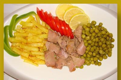 غذای فوری با ماهی تن