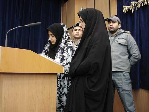 تصاویر: اعدام مهين قديري قاتل سريالي زنان در قزوین
