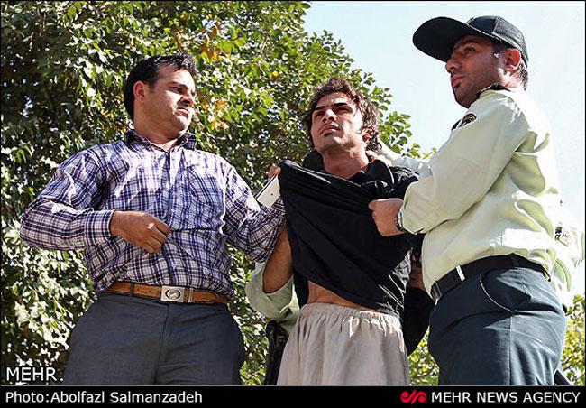 عکس:اعترافات هولناک قاتل ۲۳ ساله خيابان شهید مدنی (نظام آباد)
