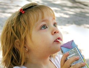 آب میوه ای برای افزایش اشتهای کودکان