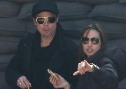 :آنجلینا جولی به همراه همسرش وساخت فیلم جدیدش