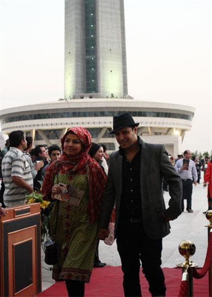 عکس:بازیگران و همسرانشان در جشن دنیای تصویر