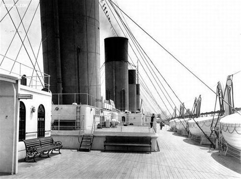عکس:عکسهایی قدیمی و واقعی از کشتی تایتانیک