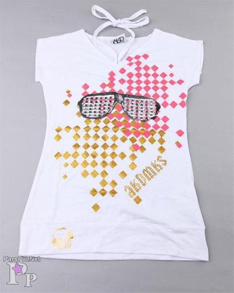 عکس:جدیدترین مدل های تی شرت دخترانه