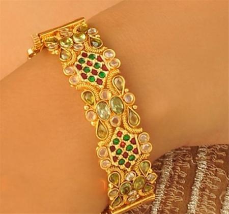 عکس های مدل جواهرات دست بندهای طلا