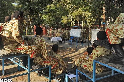 عکس:یک روز جالب با سرباز های مرکز آموزش 01 ارتش