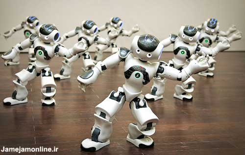 تصوير روبات هاي انسان نماي خودمختار!