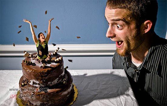 عکس های دیدنی  ازیک  زندگی زناشویی عجیب و غریب