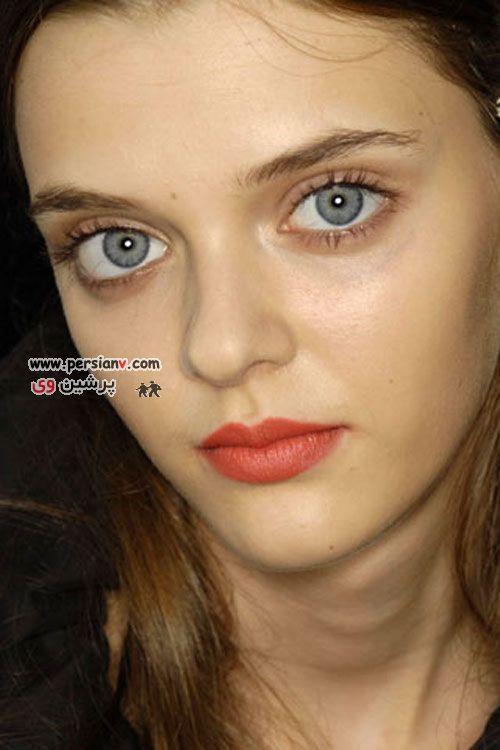 عکس های دیدنی:دختر اوکراینی سوپرمدلی با چشمان عجیب و ترسناک