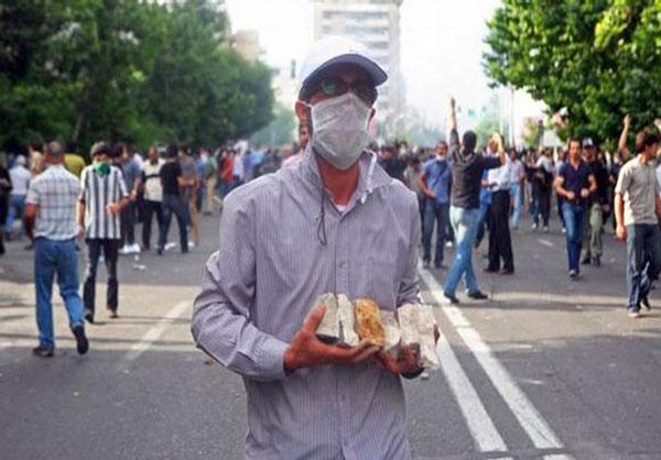 تصاوير رسانه هاي خارجي از آشوب هاي تهران