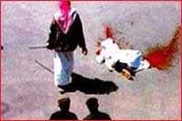 جزئیات مراسم گردن زنی در عربستان!