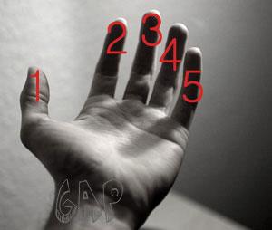 معجزه شگفت انگیز  انگشتان دستان ما