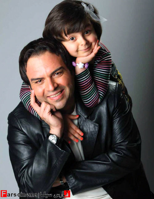 تصاویر جنجالی از شهرام قائدی و دخترش