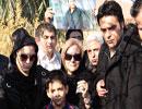 مراسم سالگرد تولد ناصر حجازی در بهشت زهرا