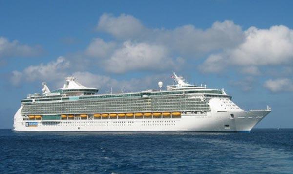 بزرگترین کشتی دنیا (تصویری)
