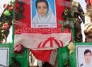 تشییع پیکر شهدای حادثه تروريستي در چابهار (عکس)