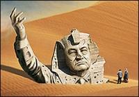 دیکتاتور مصر سقوط کرد