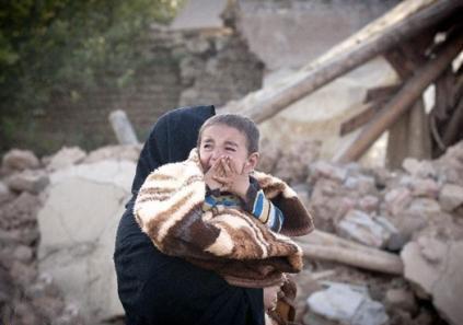 گوشه ای از سخنان سوزناک پدری در زلزله آذربایجان شرقی
