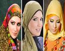 عکس:جدیدترین طرح های شال و روسری