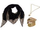 ست کردن روسری با جواهرآلات زینتی