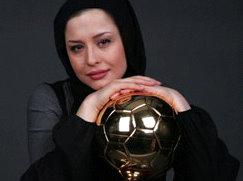 با مهراوه شریفی نیا و علاقه او به فوتبال