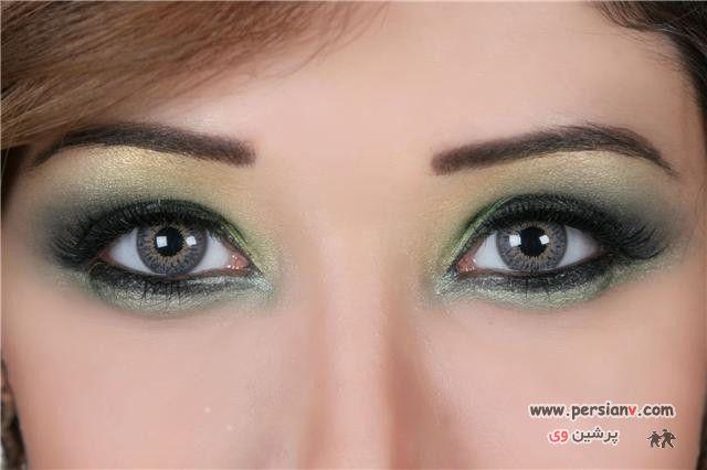 عکس : چند مدل آرایش چشم