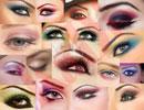 انواع مدل های آرایش چشم