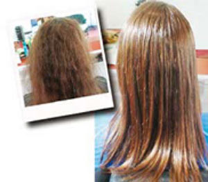 می خواهید موهای تان را کراتینه کنید؟