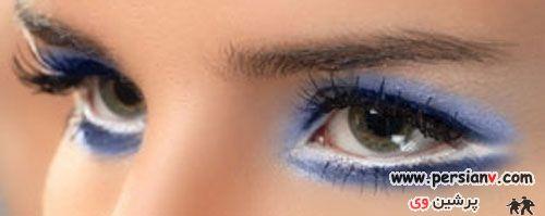 عکسهای دیدنی از آرایش چشم