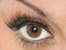 آرایشی مخصوص چشم های قهوه ای