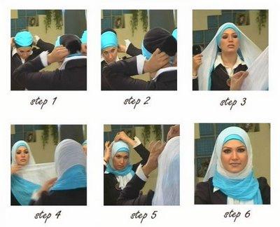 آموزش بستن شال (تصویری)