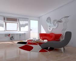 استفاده از رنگ قرمز در اثاثیه منزل