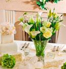 تصاویر:تزیین میزهای شام و عروسی