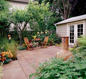 عکس : طراحي باغ و باغچه