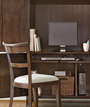 عکس : طراحي محيط مناسب كار در خانه