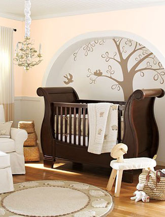 عکس : تزيين اتاقخواب نوزاد