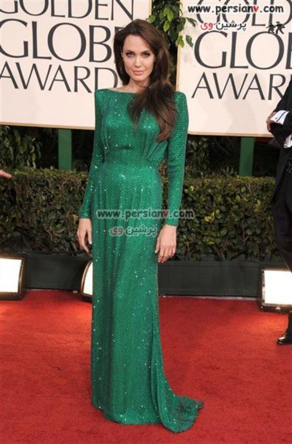 بهترین مدلهای لباس هالیوودی ها در گلدن گلاب 2011 + تصاویر