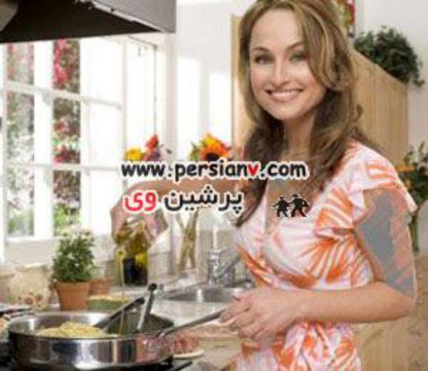 زیباترین زن ایتالیا یک آشپز معروف است ! + عکس